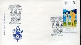 29622 Argentina, Special Postmark 2007 Scouts Of Argentina, Cordoba - Movimiento Scout