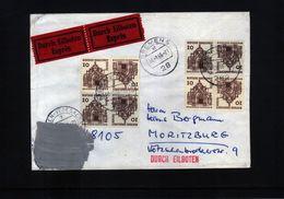 Deutschland Berlin 1966 Interessanten Zensurierten Brief - Berlin (West)