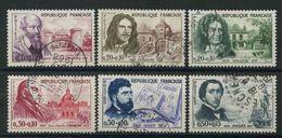 France (1960) N 1257 à 1262 Obt - Oblitérés