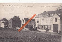 FRASNES-LEZ-BUISSENAL - Hameau De La Belle-Eau - Superbe Carte Animée Avec Vieille Voiture - Frasnes-lez-Anvaing