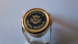 BOUCHONS A CHAMPAGNE BOUCHON BULLE HERMETIQUE CHAMPAGNE CHARLES HEIDSIECK    **** A SAISIR - Autres Collections
