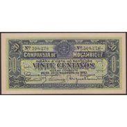 TWN - MOZAMBIQUE R29 - 20 Centavos 25.11.1933 Perforated: PAGO 5.11.1942 AU - Mozambico