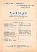 """Solfège """" Drôlerie En Un Acte Pour Jeunes Filles ( Les Saynètes Et Comédies De Godefroy-Boutard ) - Musique & Instruments"""