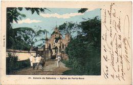 Colonie Du Dahomey - Eglise De PORTO NOVO - Cachet  De SAINT DENIS EN BUGEY (Ain)   (101604) - Dahomey