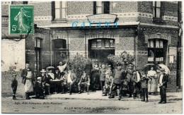 62 BILLY-MONTIGNY - Entrée Rue De La Gare - Francia