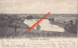 MOMIGNIES - Panorama De MACON - Superbe Carte Et Circulée En 1902 - Momignies