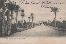 KHARTOUM THE PALACE AND GORDON STATUE - Sudan