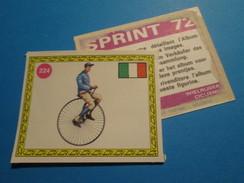 COMPLETEZ VOS ALBUMS !!! Image Cartonnée (de Récupération) En TBE : PANINI SPRINT 72 CYCLISME N° 224 - Panini