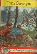 JUNIOR STAR POCKET Nr 4 - 1961 - TOM SAWYER - MARK TWAIN BEWERKT DOOR HENRI VAN HOORN MET 8 KLEURPLATEN - Books, Magazines, Comics
