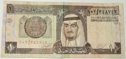 BANCONOTA – ARABIA SAUDITA – 1 RIYAL – (F) - Arabie Saoudite