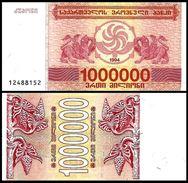 Georgia 1 Million Laris 1994 P 52 UNC (GEORGIE) - Géorgie