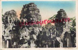 ASIE- CAMBODGE- INDOCHINE FRANCAISE-PALAIS ANGKOR- LE BAYOU  TOURS A QUATRE TETES CIVAIQUES - Cambodia