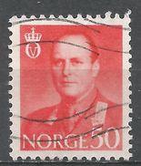 Norway 1962. Scott #411 (U) King Olav V, Roi - Norvège