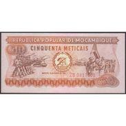 TWN - MOZAMBIQUE 125 - 50 Meticais 16.6.1980 Replacement ZB UNC - Mozambico