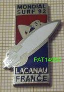 MONDIAL De SURF 92 LACANAU FRANCE - Badges