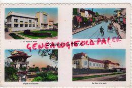 VIET NAM- SOUVENIR DE HANOI-QUARTIER ANNAMITE-FOYER DU SOLDAT-PAGODE DE CONFUCIUS-LA GARE ET LES QUAIS - Viêt-Nam