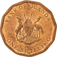 Uganda, Shilling, 1987, TTB+, Copper Plated Steel, KM:27 - Ouganda