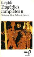 Tragédies Complètes II : Iphigénie En Tauride, Électre, Les Phéniciennes, Oreste, Les Bacchantes, Etc... Par Euripide - Autres