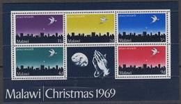MALAWI Block 16  ** MNH  Noel Kerstmis Christmas 1969 - Malawi (1964-...)