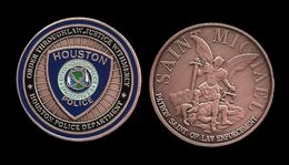 MEDAILLE . HOUSTON POLICE DEPARTMENT . - Other