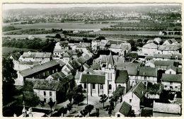 95 - B12523CPSM - PLESSIS BOUCHARD - Eglise, En Avion Au Dessus Â… - Très Bon état - VAL-D'OISE - France