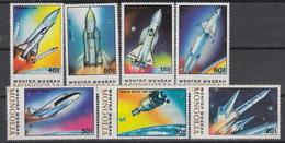 MONGOLIA 1643-49  - (1989)  ** MNH – Ruimtevaart – Vols Spatiayx – Space Travelling - Mongolei
