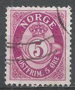 Norway 1962. Scott #416 (U) Post Horn - Norvège