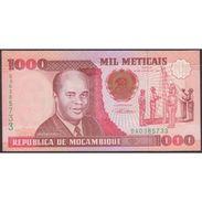 TWN - MOZAMBIQUE 135 - 1000 1.000 Meticais 16.6.1991 Prefix BA UNC - Mozambico