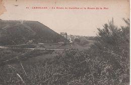 Carolles La Route De Carolles Et La Route De La Mer - France