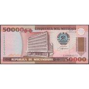 TWN - MOZAMBIQUE 138 - 50000 50.000 Meticais 16.6.1993 Prefix ED UNC - Mozambico
