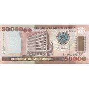 TWN - MOZAMBIQUE 138 - 50000 50.000 Meticais 16.6.1993 Prefix EH UNC - Mozambico