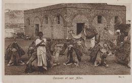ADEN CARAVAN AT REST - Yémen