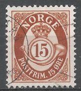 Norway 1962. Scott #418 (U) Post Horn - Norvège
