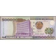TWN - MOZAMBIQUE 142 - 500000 500.000 Meticais 16.6.2003 Prefix HA UNC - Mozambico