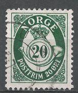 Norway 1962. Scott #419 (U) Post Horn - Norvège