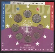 FRANCE  EURO SET 2007 BU SEALED - Frankrijk