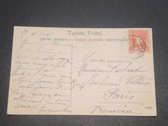 ESPAGNE - Carte De Barcelone Pour La France En 1906 , Oblitération Plaisante -  L 11646 - Cartas
