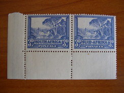 Afrique Du Sud N° 113A/114A Attachés Neuf** - South Africa (...-1961)