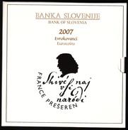 SLOVENIA  EURO SET 2007 BU FOC - Slovenia