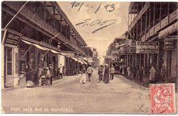 PORT SAID - Rue De Commerce    (101620) - Egipto