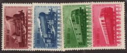 HUN SC #785-8 MH(HR) 1946 Centenary Of Hungarian Railways W/875 - Sm Backside Prt Adh CV $19.00 (if NH) - Hungary