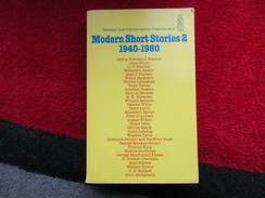 """Modern Short Stories 2 """"1940-1980"""" / éditions J.M. Dent & Sons Ltd De 1982 - Books, Magazines, Comics"""