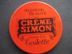 Miroir De Poche Publicitaire  CREME SIMON Pour La Toilette - Hygiène, Beauté - Produits De Beauté
