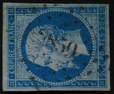 NAPOLEON III. .n°14 A.Obl  PC 2859 SEGRE - 1853-1860 Napoleon III
