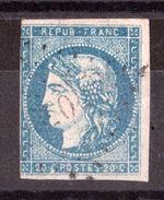 Cérès Bordeaux N° 44B - PC Du GC 4052 - Ussel Sur Sarsonne (Corrèze) - Marcophilie (Timbres Détachés)