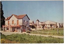 PARNAC - CAFE - BAR -CELONE Station Esso,  Gare De Parnac. - Autres Communes