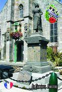 Carte Postale, Militaria, Monuments, World War II Monuments, France (Finistère), Le Conquet - Monuments Aux Morts