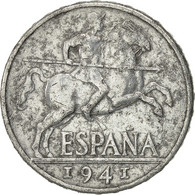 Espagne, 10 Centimos, 1941, TB+, Aluminium, KM:766 - 10 Céntimos