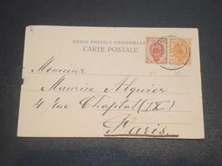 RUSSIE - Carte Postale Pour La France En 1904 , Affranchissement Bicolore -  L 11665 - 1857-1916 Empire