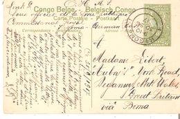 EP. N° 5 Vue 6 (période Intermédiaire) KIGOMA 30/9/1917 V/Grande Bretagne - Stamped Stationery